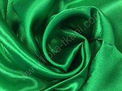Креп-сатин Зеленый