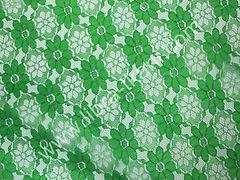 Гипюр школьный Зеленый