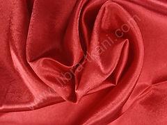 Креп-сатин Красный