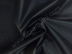 Искусственная кожа с начесом Темно-синяя