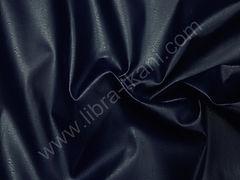 Иск. кожа (изнанка ПЭ) Темно-синяя