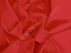 Атлас матовый плотный Красный