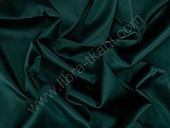 Атлас матовый плотный Темно-зеленый