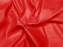 Искусственная кожа (изнанка ПЭ) Красная