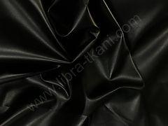Искусственная кожа-стрейч Черная