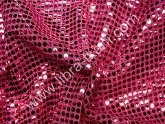Пайетки Копейка Розовые на розовом