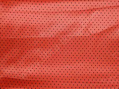 Атлас-горох 3 мм Черный на оранжевом