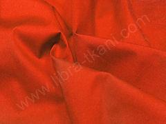 Поплин плательный Красно-оранжевый