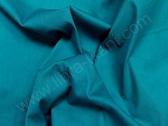 Поплин плательный Синяя бирюза