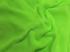 Шифон Зеленое яблоко