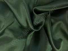 Креп-сатин Темно-зеленый