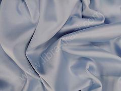 Атлас матовый плотный Голубой