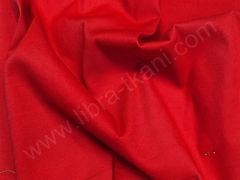 Поплин плательный красный