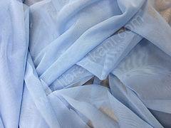 Сетка-стрейч Голубая