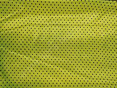 Атлас-горох 3 мм Черный на желтом