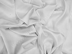 Атлас матовый плотный Белый