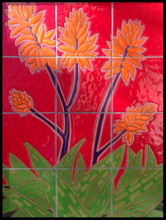 Desert Blooms in Red, 2015