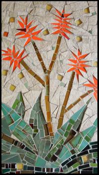 Blooming Aloe (mosaic)