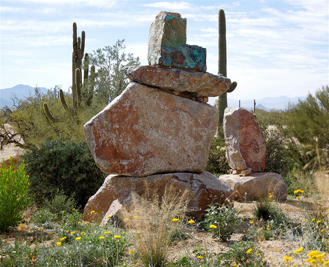 Guests of Nature (boulder sculptures), 2011