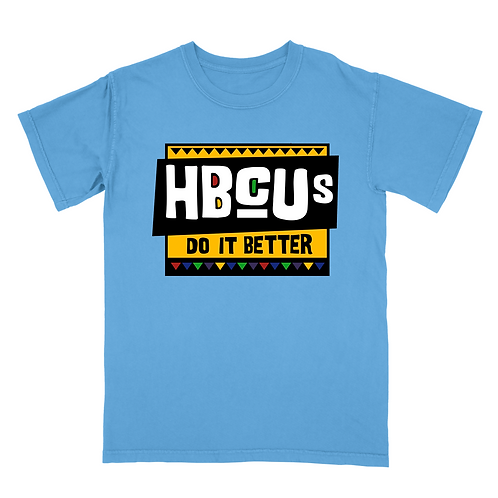 HBCUs Do It Better Blue T-Shirt