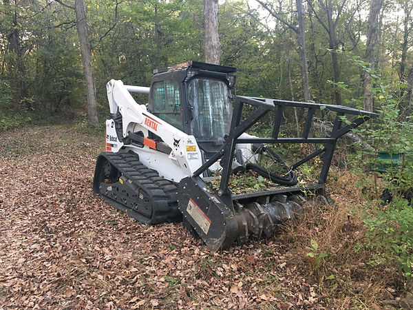 Brush Clearing Mulching