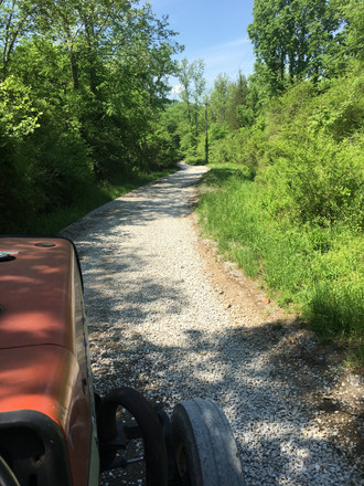 Gravel road repair Tractor Services