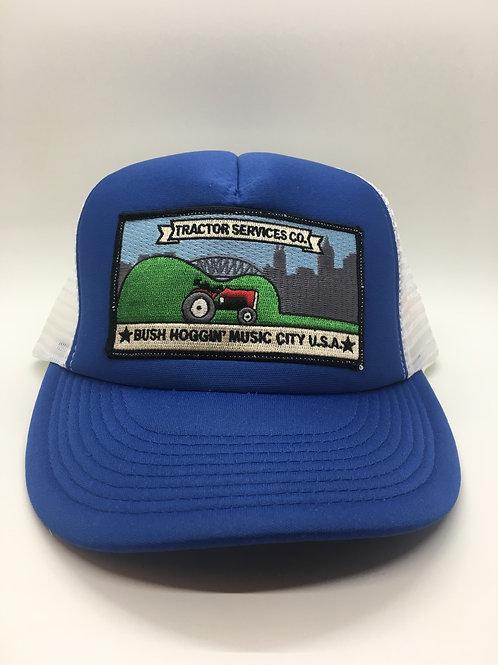 Tractor Services Trucker Hat, Blue