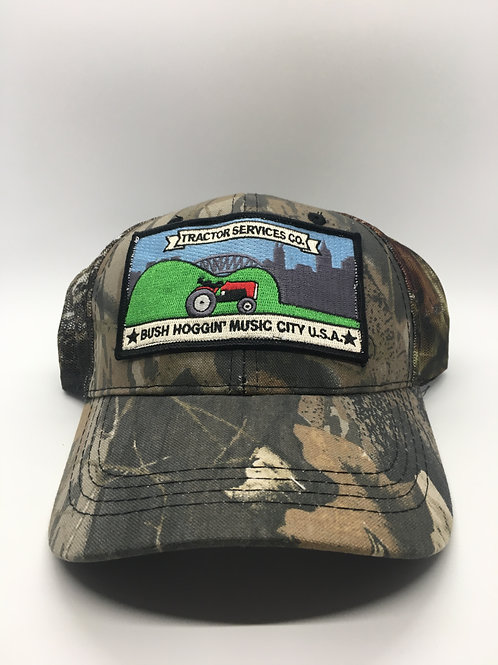 Tractor Services Hat Camo