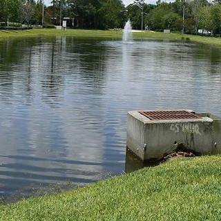 Retention Pond Cleanup