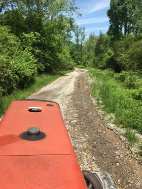 Gravel Road Repair Tractor
