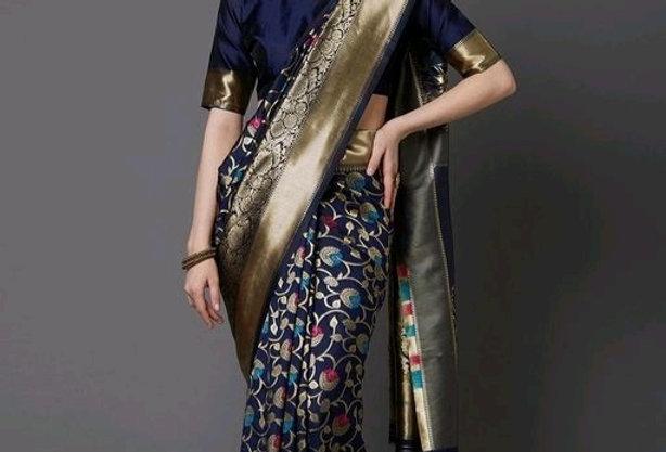 Pure Silk Saare at Best Price   Elegant Look Traditional Silk Blend Saree