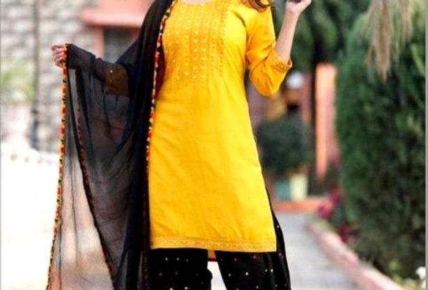 100% Pure Rayon Kurti with Bottomwear | Casual Wear Rayon Kurti For Girls