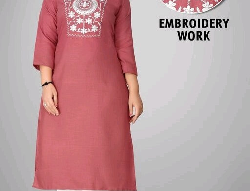 Pure Cotton Embroidery Handmade Work for Casual Wear for Girls / Women