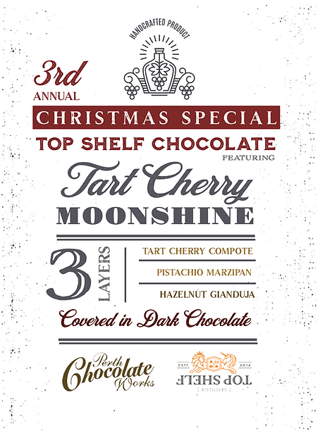 Top Shelf Moonshine Chocolate