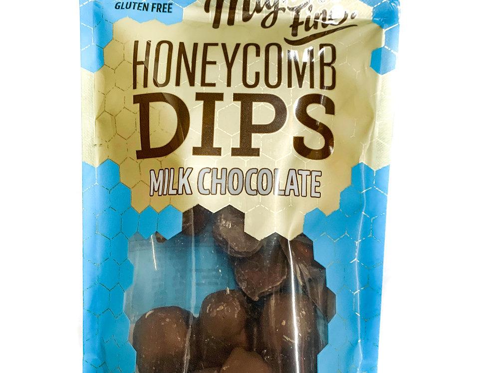 Milk Chocolate Honeycomb Dips
