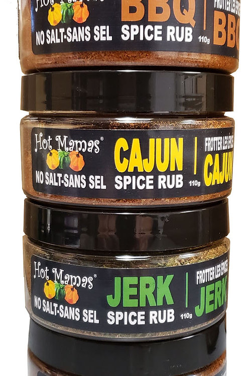 Hot Mamma's Spices and Rubs