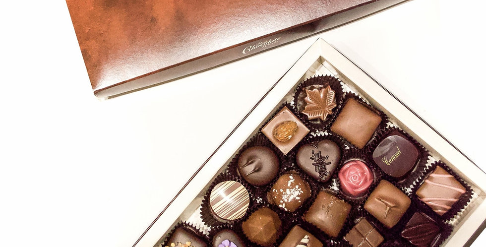 Box of Thirty-Two Assorted Chocolates