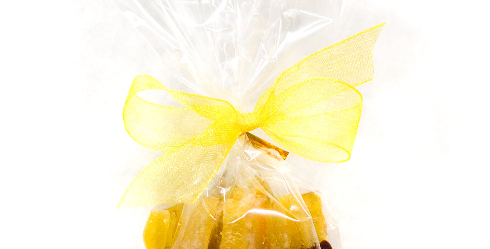 Chocolate Dipped Candied Lemon Peel