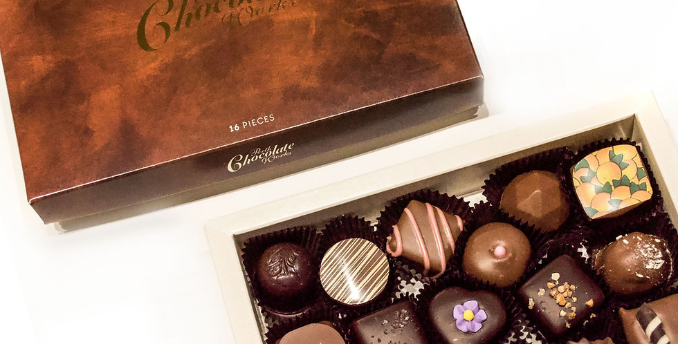 Box of Sixteen Assorted Chocolates