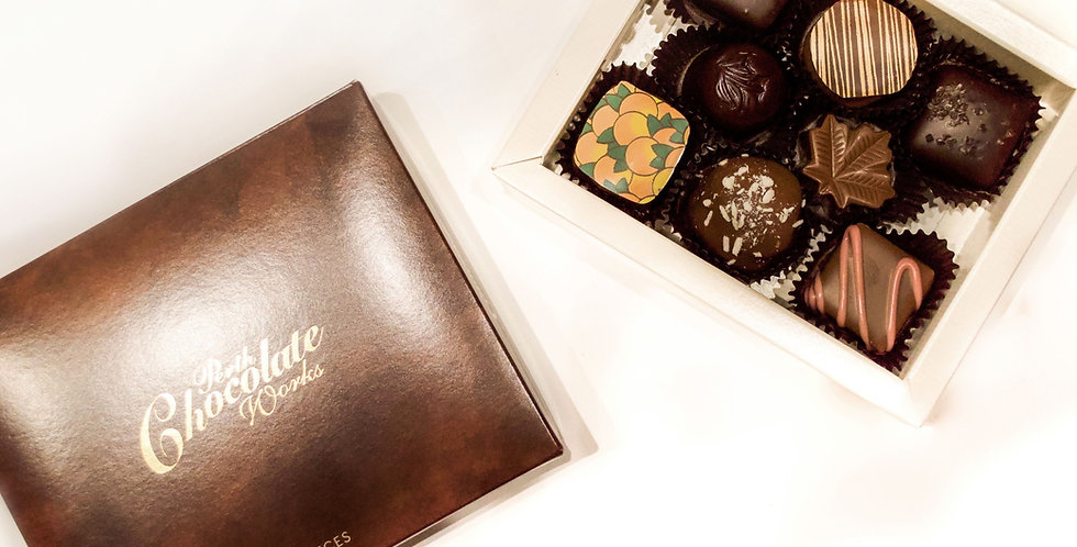 Box of Eight Assorted Chocolates