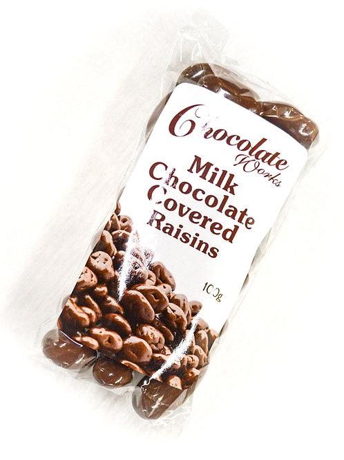 Milk Chocolate Covered Raisins