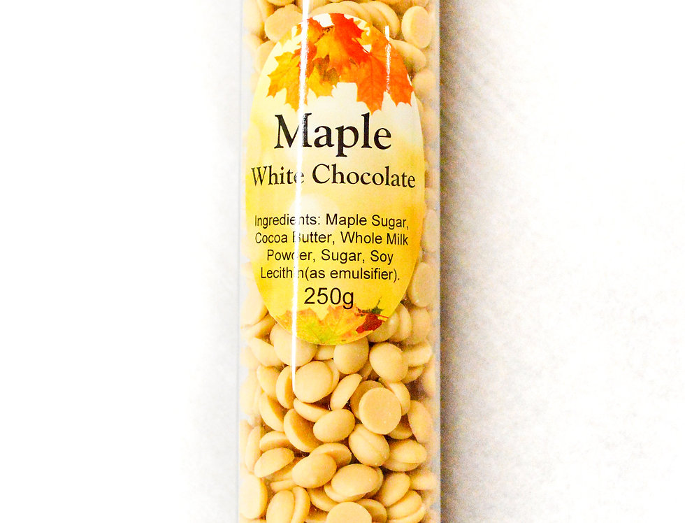 Maple White Chocolate Callets