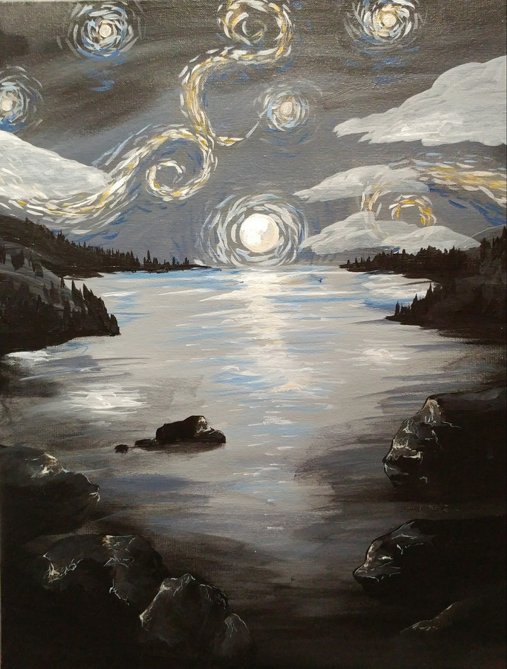 Starry Paint Nite