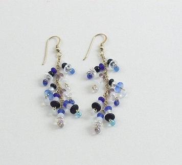The Blues Bangle Earrings