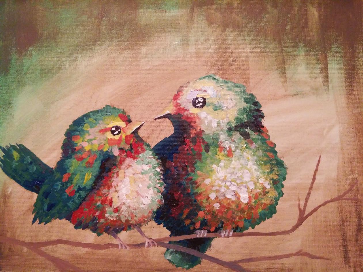 Impressionist Birds