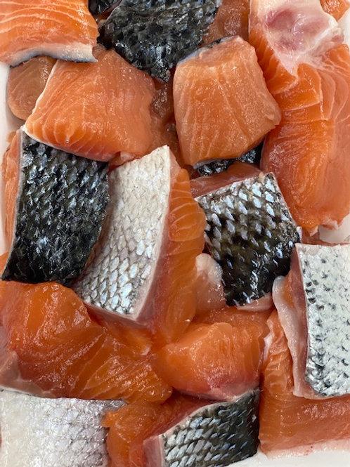 Salmon Dices (500g)