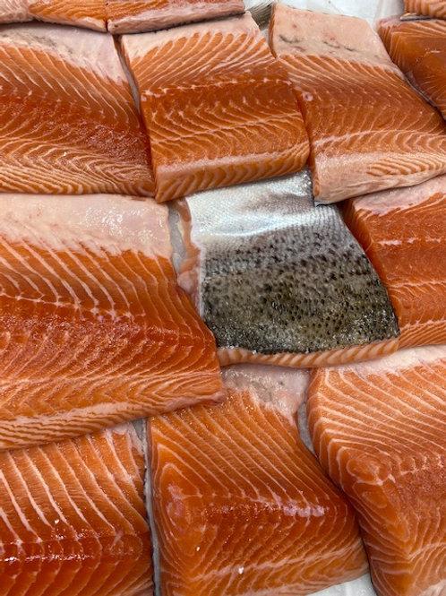 Atlantic Salmon Portions - Skin On (500g)