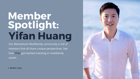 Member Spotlight: Yifan Huang