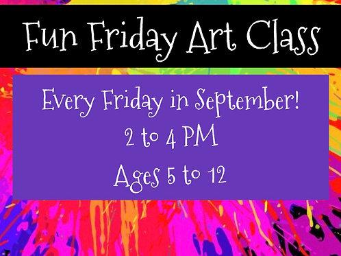 Fun Friday! Art Class