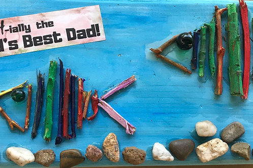 O-FISH-ally World's Best! Wood Panel Painting Kit